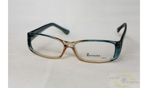 Zarruchi ZP37 Crystal Blue Yellow Acetate Plastic Frame