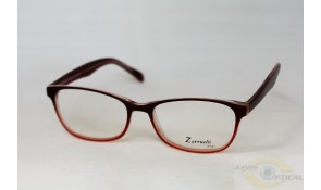 Zarruchi ZP85 Red Orange Acetate Plastic Frame
