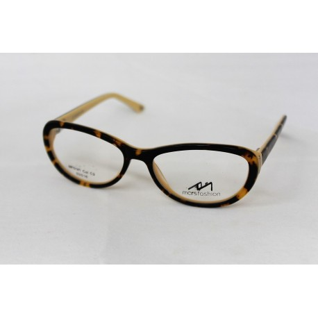 Mars MF5141 Fashion Tortoise Shell Cream Acetate Plastic Frame