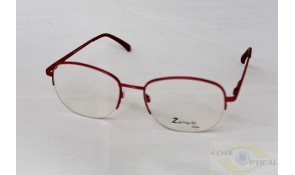 Zarruchi Z72 Semi-Rimless Hot Pink Metal Frame