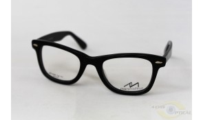 Mars MF5068 Fashion Black Acetate Plastic Frame