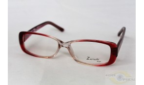Zarruchi ZP78 Fashion Crystal Red Acetate Plastic Frame