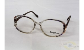 Zarruchi ZTP32 Fashion Crystal Purple Black Acetate Plastic Frame