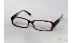 Zarruchi ZP76 Fashion Purple White Acetate Plastic Frame