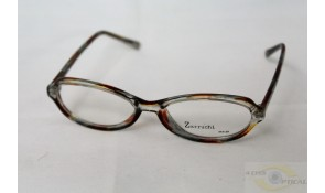 Zarruchi ZP14 Crystal Brown Yellow Acetate Plastic Frame