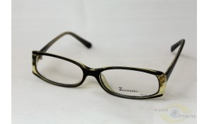Zarruchi ZP44 Black Crystal Yellow Acetate Plastic Frame
