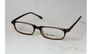 Zarruchi ZP09 Crystal Blue Brown Acetate Plastic Frame