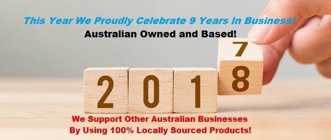 Proudly Australian Owned and Based Using Australian Products!