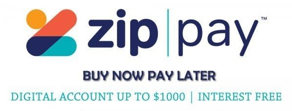 Check out using zipPay! Buy Now Pay Later!
